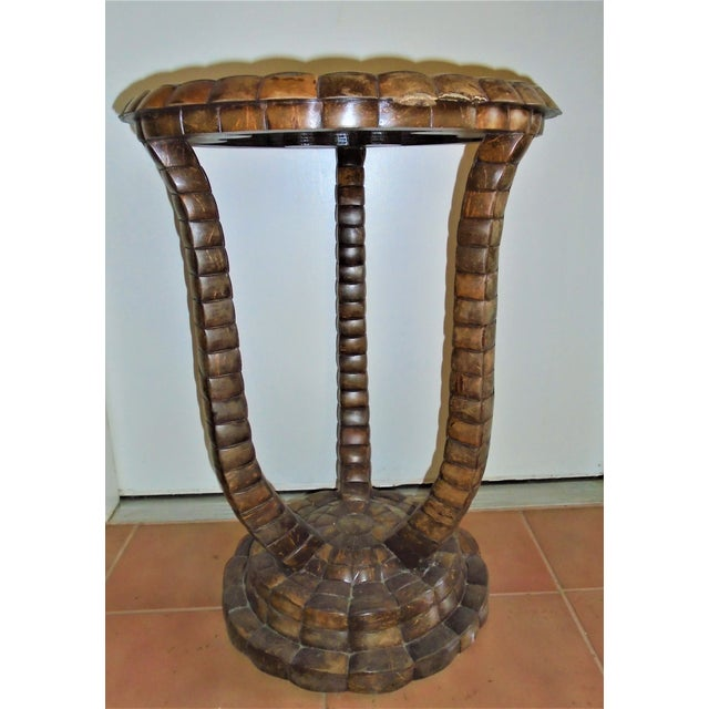 Maitland Smith Pedestal Table For Sale In Naples, FL - Image 6 of 6