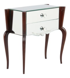 Image of Mirrored Nightstands