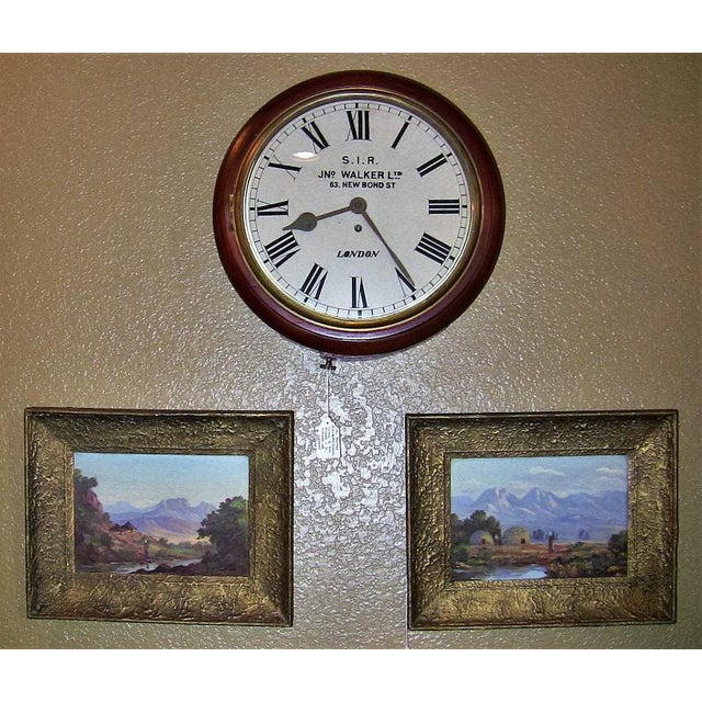 Paint 20c Pair of Oil on Boards by Percy Wort of Natal South African Scenes For Sale - Image 7 of 8