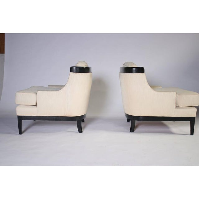 Pair of Erwin Lambeth Lounge Chairs for Tomlinson For Sale In Chicago - Image 6 of 8