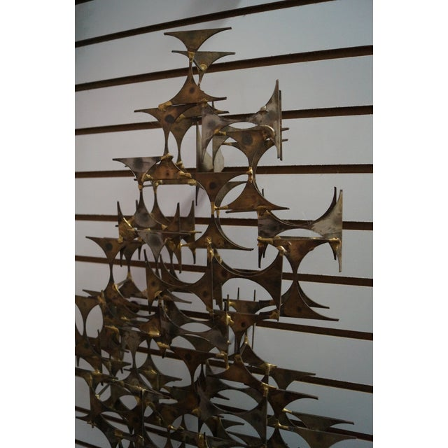 Marc Creates Mid-Century Modern Wall Sculpture For Sale - Image 10 of 10