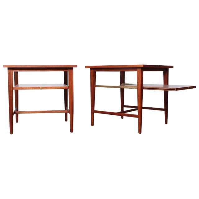 Pair of End Tables by Paul McCobb for Calvin For Sale