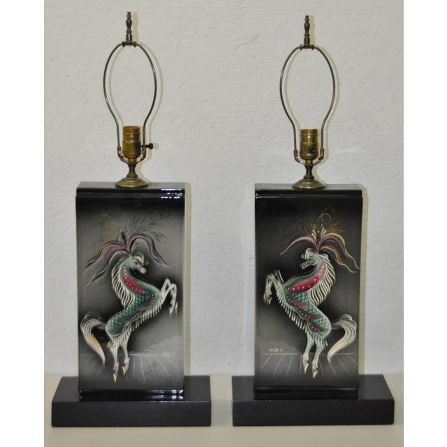Sascha Brastoff Mid-Century Modern Lamps - Image 5 of 10