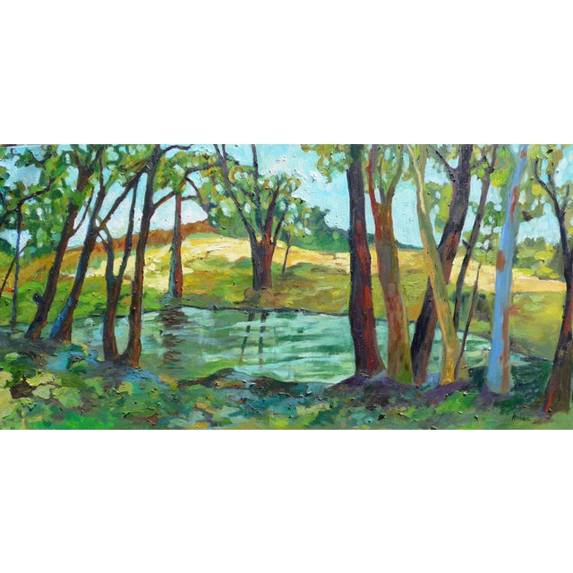 Contemporary Summer Landscape Painting - Image 5 of 5
