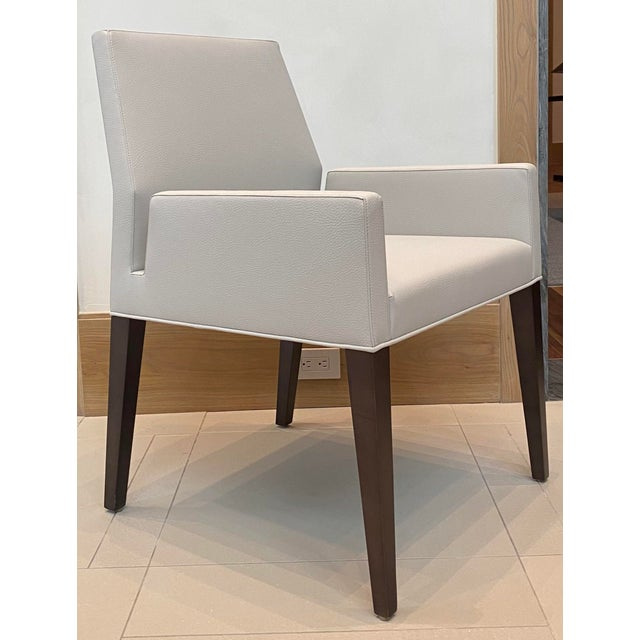 Contemporary Dining Arm Chair For Sale In Houston - Image 6 of 6
