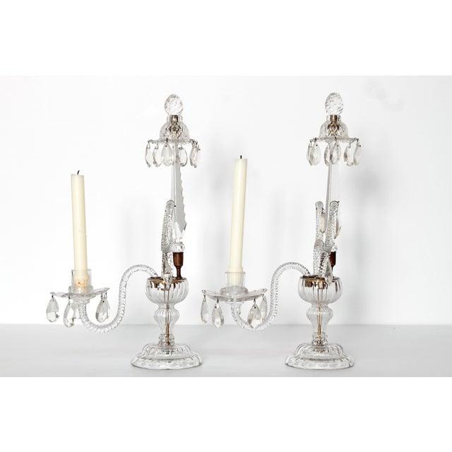 George II Cut Glass Girandoles / Lustres - Image 3 of 11