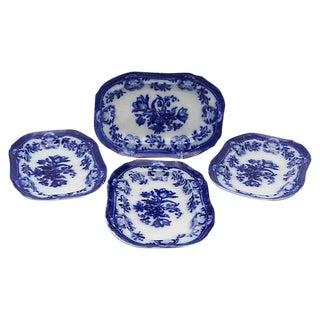 Antique Copeland Spode Platters - Set of 4 For Sale