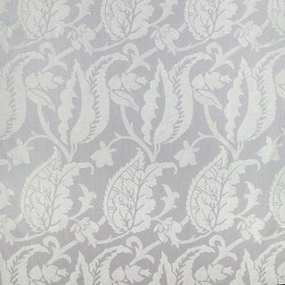 Suzanne Tucker Home Jacqueline Linen Blend Jacquard in Lilac