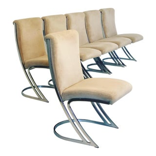 Set of 6 Vintage Pierre Cardin Z Chairs For Sale