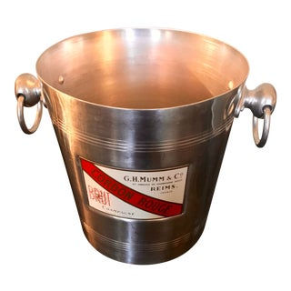 1960s Vintage Mumm & Co. Champagne Ice Bucket For Sale