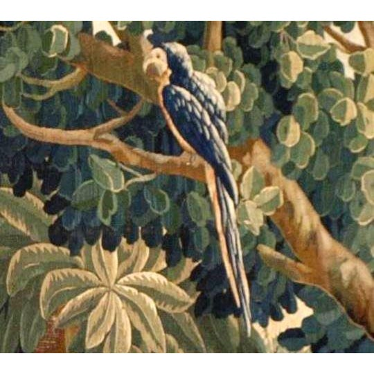 Antique Verdure Tapestry For Sale In Los Angeles - Image 6 of 6