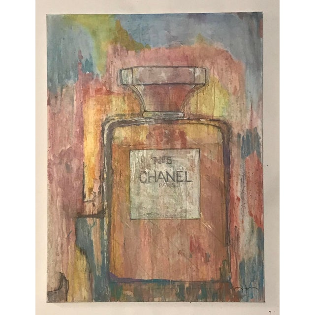 """""""Chanel"""" Painting by Allen Kerr For Sale - Image 4 of 4"""