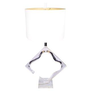 Original Van Teal Sculptural Table Lamp For Sale