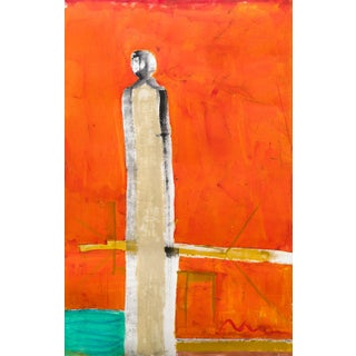 """""""Study"""" Contemporary Figurative Abstract Art Print For Sale"""