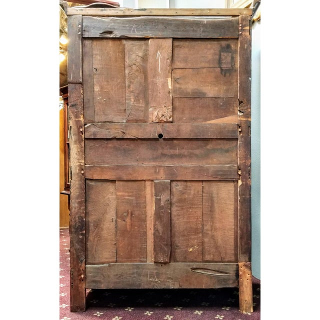 Imagine this antique armoire brimming with all the trimmings a young bride would need as a wife in 18th century France -...
