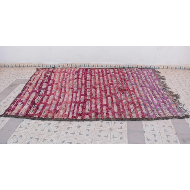 "Boujad Vintage Moroccan Rug, 5'10"" x 8'8"" feet / 177 x 263 cm - Image 3 of 6"