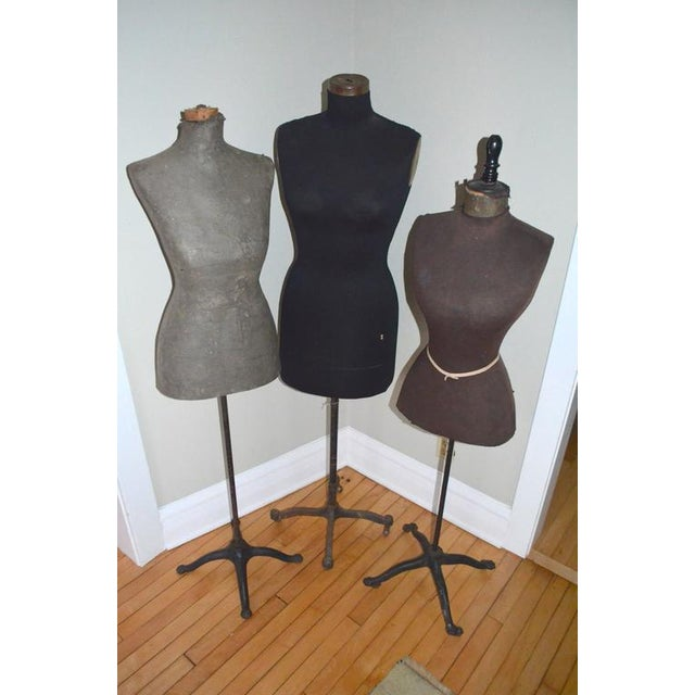 Mid-Century Adjustable Seamstress Dress Forms - Set of 3 - Image 2 of 10