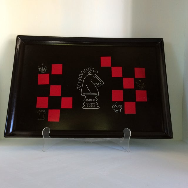 Couroc of Monterey Chess Serving Tray For Sale - Image 13 of 13
