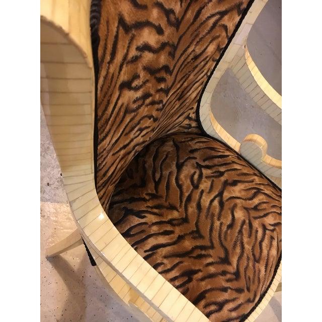 Enrique Garcel Enrique Garcel Bone Armchairs - A Pair For Sale - Image 4 of 8