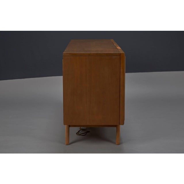 Zenith Zenith Stereophonic Stereo Cabinet With Record Player and Working Radio For Sale - Image 4 of 8