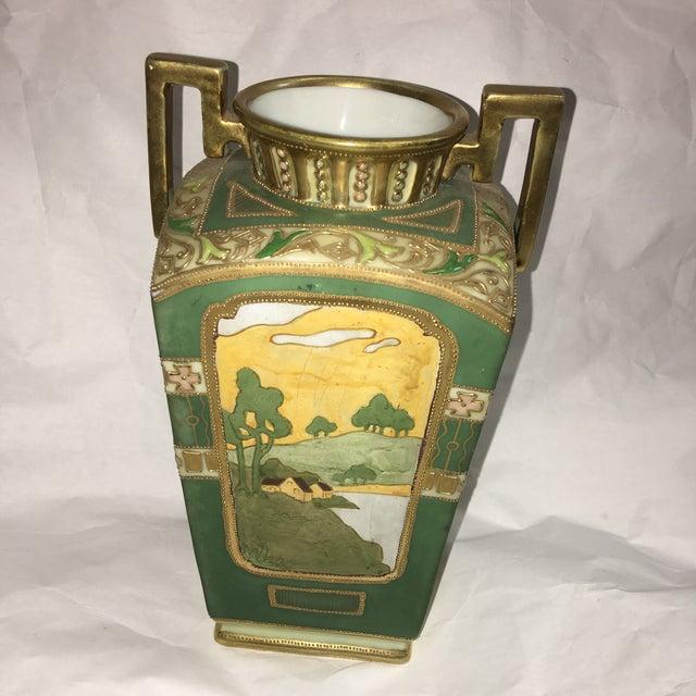 Hand Painted Japanese Nippon Vase Chairish