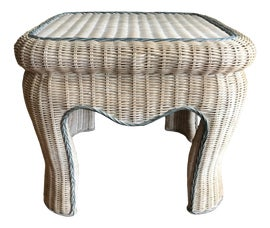 Image of Wicker Side Tables