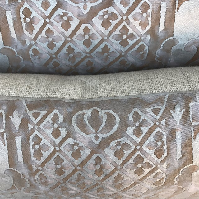 Fortuny Pillows- A Pair - Image 5 of 6