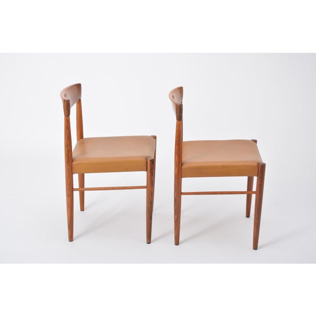 Set of 8 Midcentury Dining Chairs by h.w. Klein for Bramin For Sale - Image 10 of 12