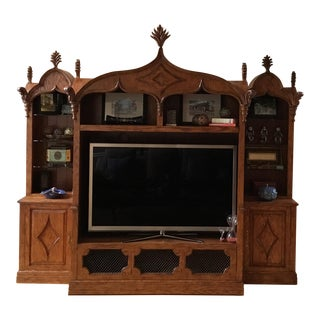 Custom Made Entertainment Cabinet / Display Unit For Sale