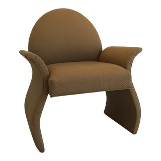 1980's Postmodern Sculptural Chair For Sale