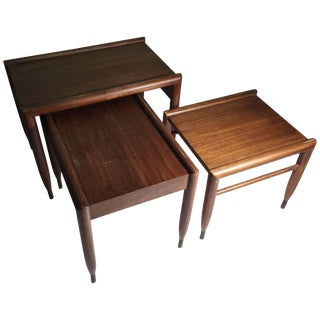 John Keal Nesting Tables for Brown Saltman For Sale
