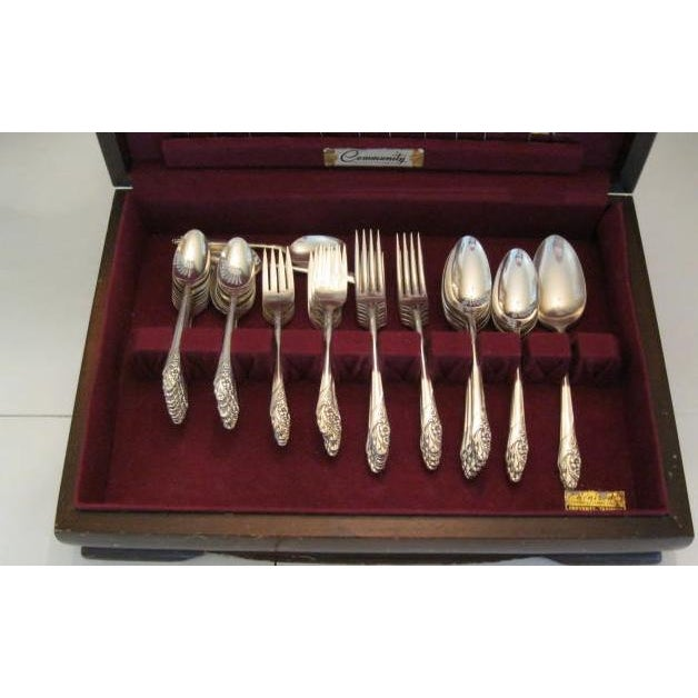 Oneida Silver-Plate Flatware - Service for 12 ~ Excellent Condition - Image 2 of 11