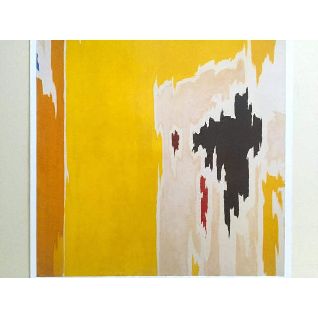 """Abstract Clyfford Still Abstract Expressionist Lithograph Print Poster """"Ph - 1074"""", 1956 For Sale - Image 3 of 11"""