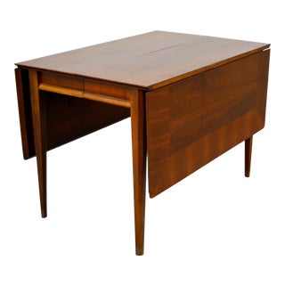 1960s Lane First Edition Drop Leaf Dining Table For Sale