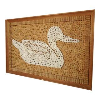 Midcentury Cork Art For Sale