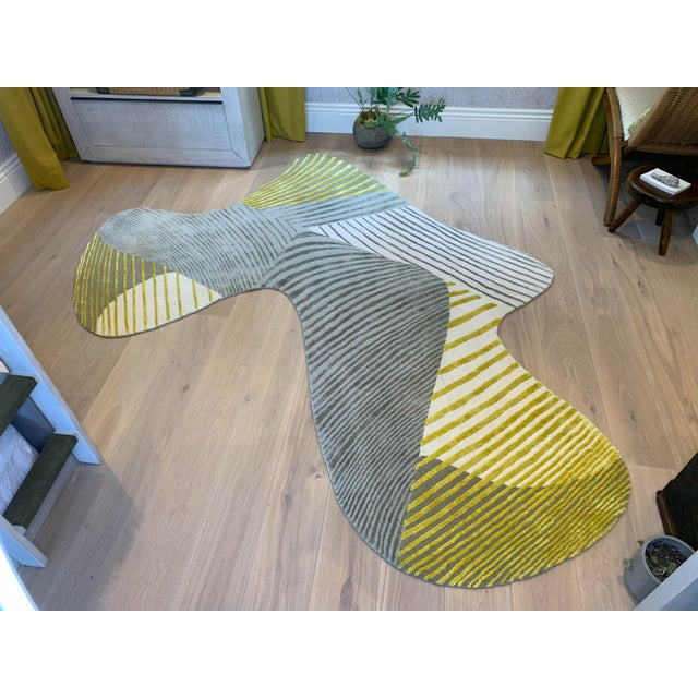 2020s Featured in The 2020 San Francisco Decorator Showcase — Sean Leffers Interiors Rug For Sale - Image 5 of 5