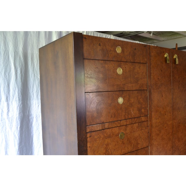Vintage Century Furniture wardrobe dresser is in lovely condition. A few polishing touches and it will shine! Two original...