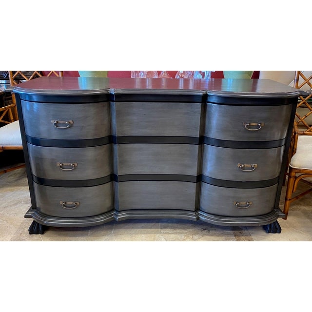 """Ridley"" dresser by Noir Trading of Los Angeles. Noir is a newer furniture company that emphasizes design, craftsmanship..."