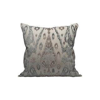 Scalamandre Tai Lao Pillow, Mist For Sale