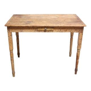 Rustic Farmhouse Primitive Pine Dining Table