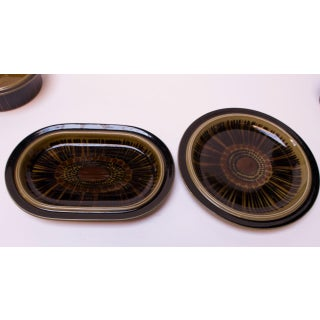 """Set of Four Arabia of Finland """"Kosmos"""" Stoneware Serving Dishes Preview"""