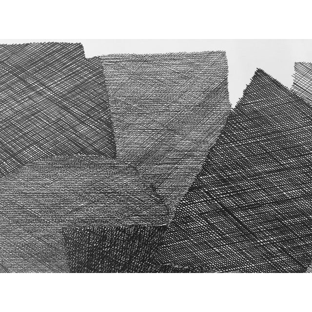Pen & Ink Abstract Drawing by Roger Stokes - Image 4 of 5