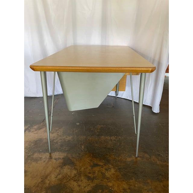 1950s Brunswick & Co Mid Century Writing Desk For Sale In San Antonio - Image 6 of 13