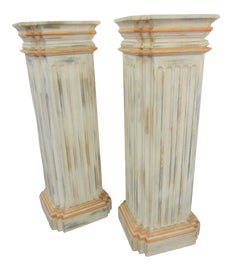 Image of Rustic Pedestals and Columns