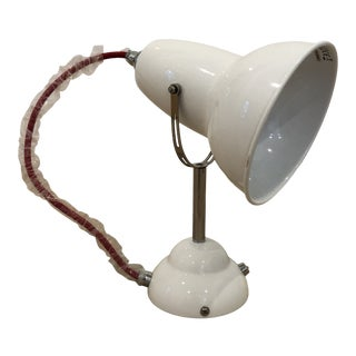White Anglepoise Wall Sconce For Sale