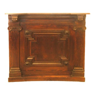 Special Midwest Delivery; Neoclassical English Bar Console For Sale