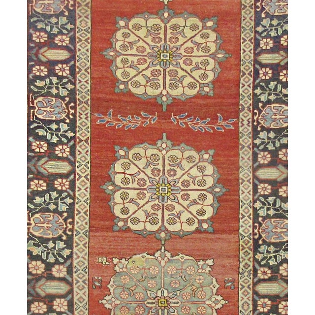 Islamic Vintage Persian Khalkhal Rug - 3'8''x10'3'' For Sale - Image 3 of 3