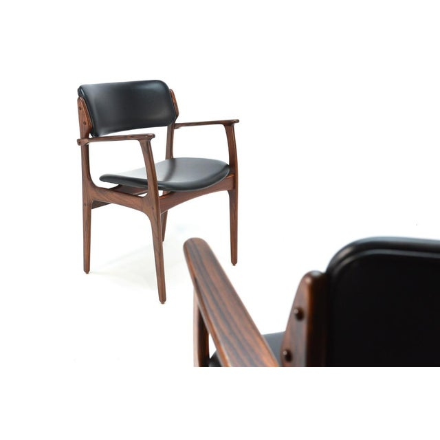 Erik Buck Model 49 Rosewood Dining Chairs - Set of 8 - Image 9 of 10