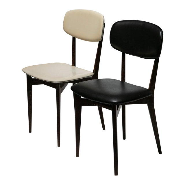 Pair of Chairs Modrl 691 by Ico Parisi for Cassina For Sale