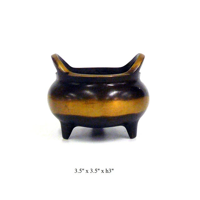 Chinese Bronze Incense Burner For Sale - Image 7 of 7